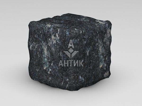 Брусчатка из Ковалевского лабрадорита 150x150x150 галтованная фото