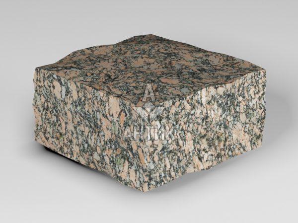 Брусчатка из Крупского гранита 100x100x50 колотая фото