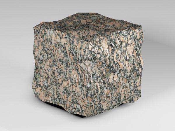 Брусчатка из Крупского гранита 150x150x150 колотая фото