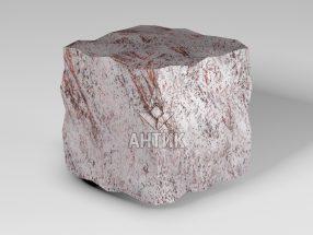 Брусчатка из Крутневского гранита 100x100x100 колотая фото