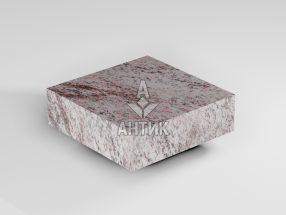 Брусчатка из Крутневского гранита 100x100x30 пиленая термообработанная фото
