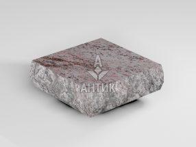 Брусчатка из Крутневского гранита 100x100x30 пилено-колотая термообработанная фото
