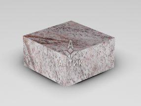 Брусчатка из Крутневского гранита 100x100x50 пиленая термообработанная фото