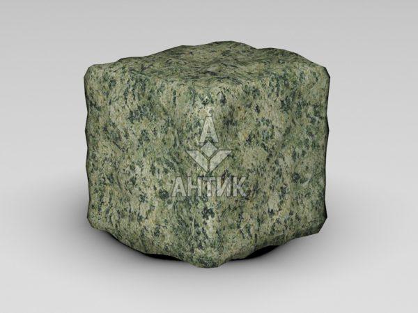 Брусчатка из Ланового гранита 100x100x100 галтованная фото