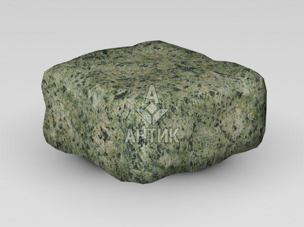 Брусчатка из Ланового гранита 100x100x50 галтованная фото