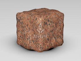 Брусчатка из Лезниковского гранита 100x100x100 галтованная фото