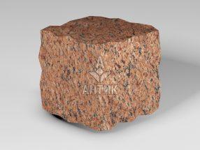 Брусчатка из Лезниковского гранита 100x100x100 колотая фото