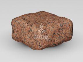 Брусчатка из Лезниковского гранита 100x100x50 галтованная фото