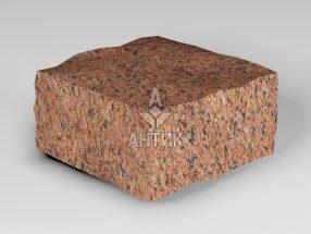 Брусчатка из Лезниковского гранита 100x100x50 колотая фото