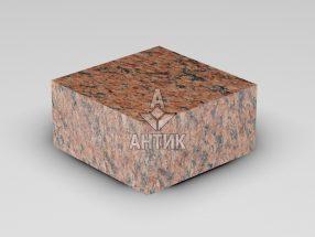 Брусчатка из Лезниковского гранита 100x100x50 пиленая термообработанная фото