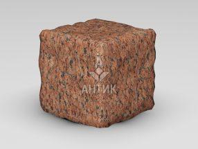 Брусчатка из Лезниковского гранита 150x150x150 галтованная фото