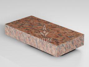 Брусчатка из Лезниковского гранита 200x100x30 пиленая термообработанная фото