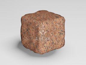 Брусчатка из Лезниковского гранита 50x50x50 галтованная фото