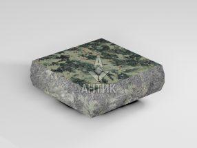 Брусчатка из Луковецкого анортозита 100x100x30 пилено-колотая термообработанная фото