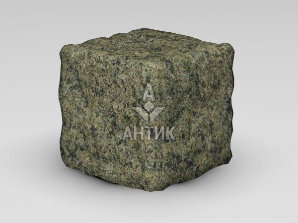 Брусчатка из Маславского гранита 150x150x150 галтованная фото