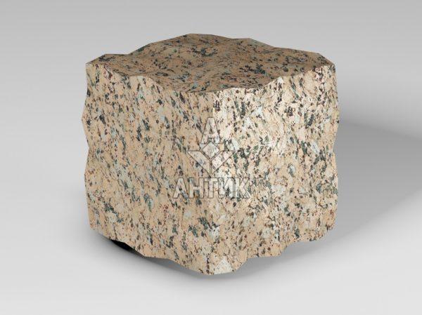 Брусчатка из Межиричского гранита 100x100x100 колотая фото