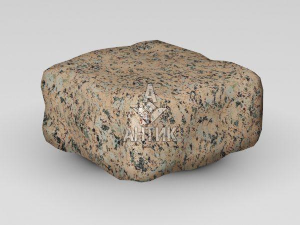 Брусчатка из Межиричского гранита 100x100x50 галтованная фото