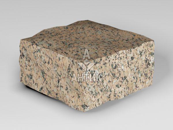 Брусчатка из Межиричского гранита 100x100x50 колотая фото