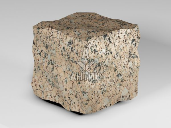 Брусчатка из Межиричского гранита 150x150x150 колотая фото