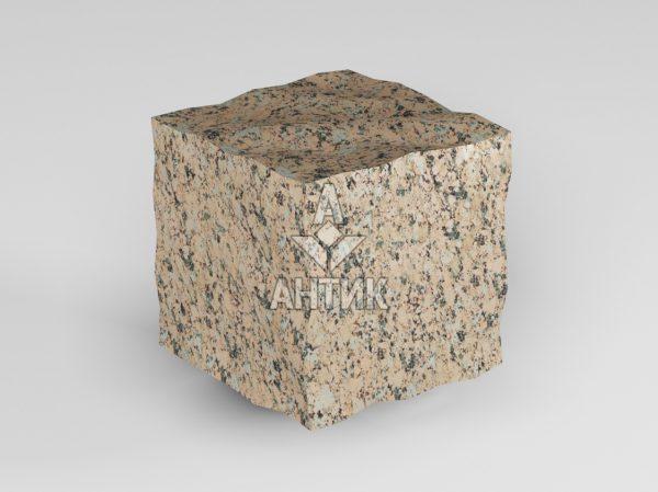 Брусчатка из Межиричского гранита 50x50x50 колотая фото