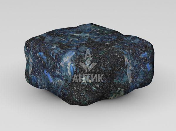 Брусчатка из Очеретянского лабрадорита 100x100x50 галтованная фото
