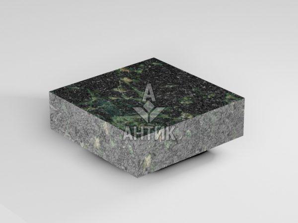 Брусчатка из Осныковского лабрадорита 100x100x30 пиленая термообработанная фото