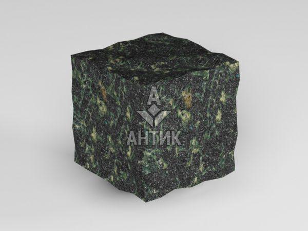 Брусчатка из Осныковского лабрадорита 50x50x50 колотая фото