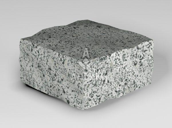 Брусчатка из Покостовского гранита 100x100x50 колотая фото