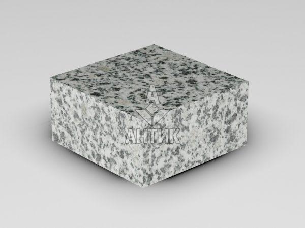 Брусчатка из Покостовского гранита 100x100x50 пиленая термообработанная фото