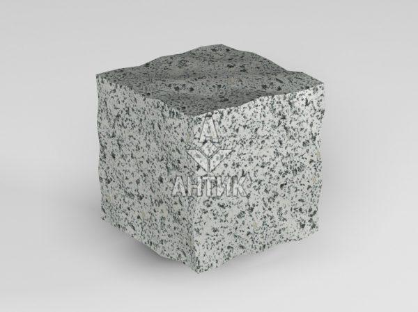 Брусчатка из Покостовского гранита 50x50x50 колотая фото