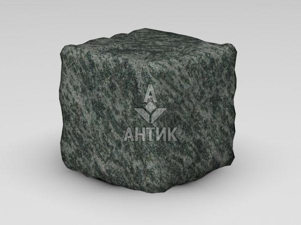 Брусчатка из Рахны-Полевского гранита 150x150x150 галтованная фото