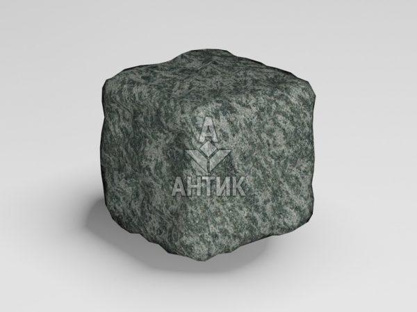 Брусчатка из Рахны-Полевского гранита 50x50x50 галтованная фото