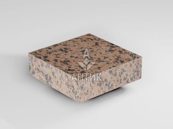 Брусчатка из Симоновского гранита 100x100x30 пиленая термообработанная фото