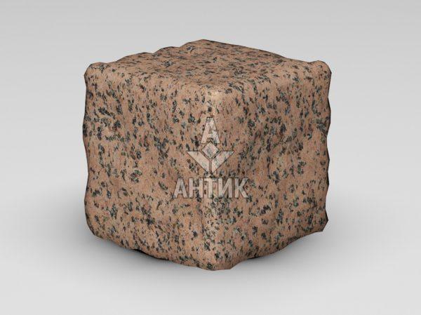 Брусчатка из Симоновского гранита 150x150x150 галтованная фото
