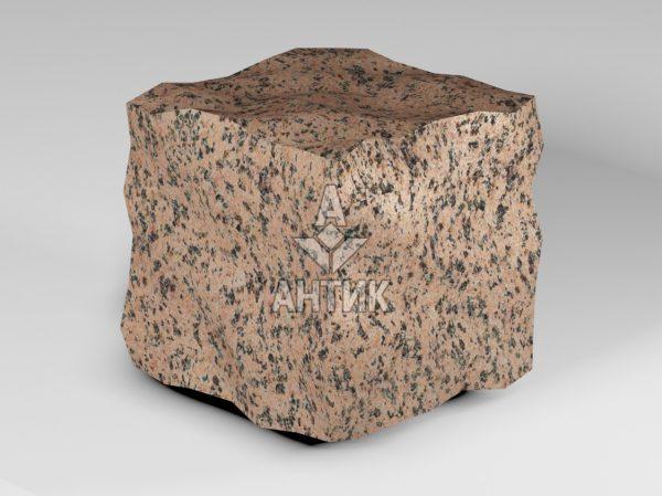 Брусчатка из Симоновского гранита 150x150x150 колотая фото