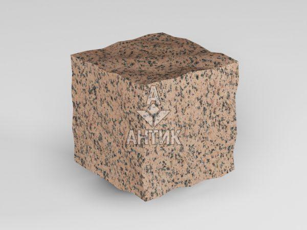 Брусчатка из Симоновского гранита 50x50x50 колотая фото