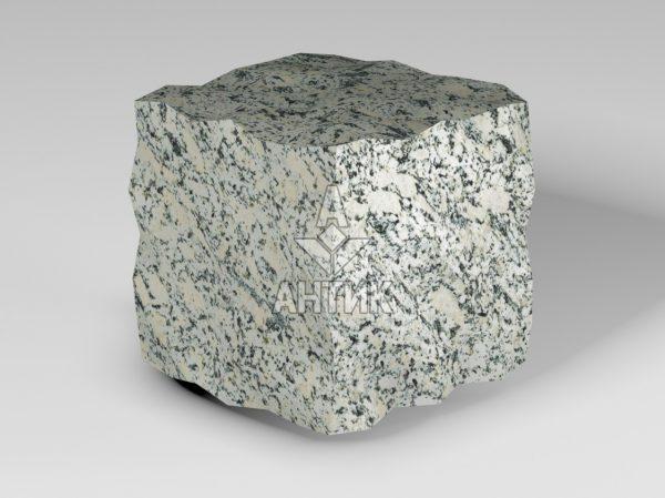 Брусчатка из Симоновского серого гранита 100x100x100 колотая фото