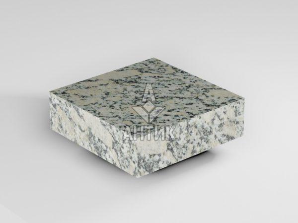 Брусчатка из Симоновского серого гранита 100x100x30 пиленая термообработанная фото
