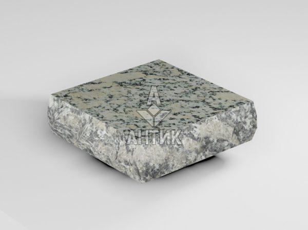 Брусчатка из Симоновского серого гранита 100x100x30 пилено-колотая термообработанная фото