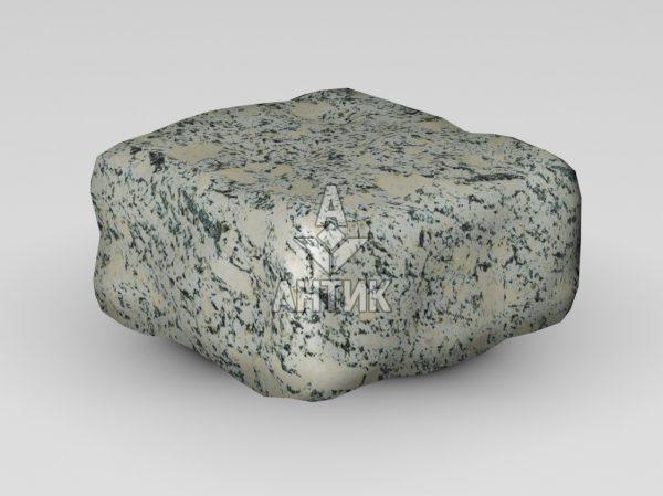 Брусчатка из Симоновского серого гранита 100x100x50 галтованная фото