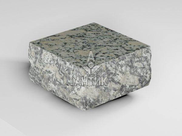 Брусчатка из Симоновского серого гранита 100x100x50 пилено-колотая термообработанная фото