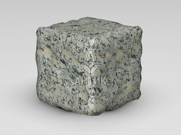 Брусчатка из Симоновского серого гранита 150x150x150 галтованная фото