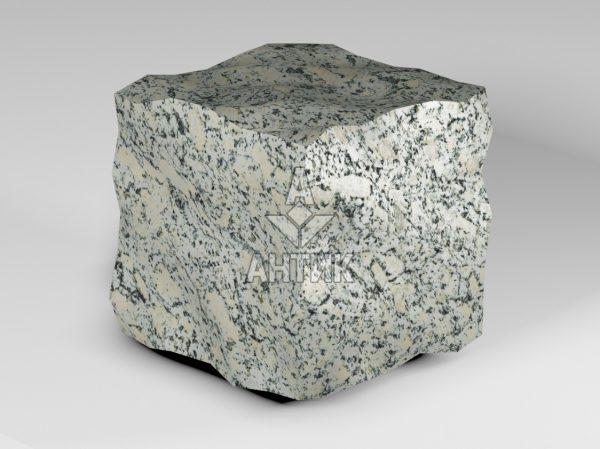 Брусчатка из Симоновского серого гранита 150x150x150 колотая фото