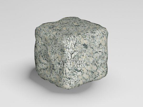Брусчатка из Симоновского серого гранита 50x50x50 галтованная фото