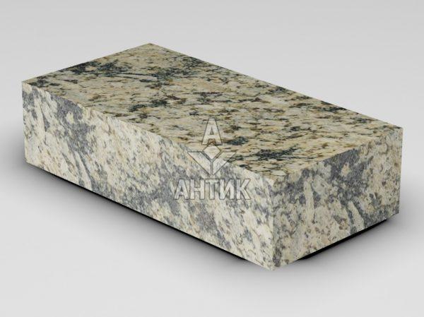 Брусчатка из Софиевского гранита 200x100x50 пиленая термообработанная фото