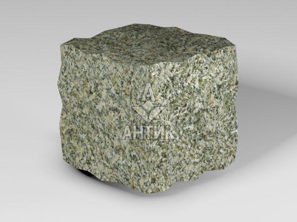 Брусчатка из Старобабанского гранита 100x100x100 колотая фото
