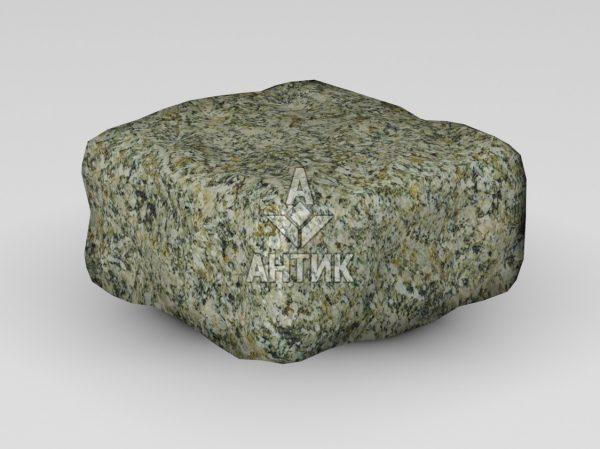 Брусчатка из Старобабанского гранита 100x100x50 галтованная фото