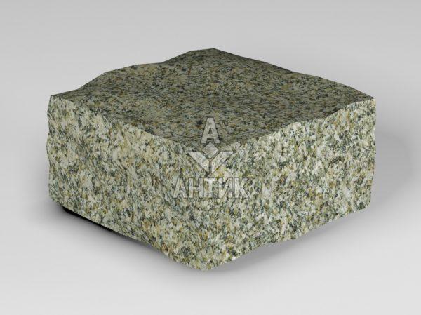 Брусчатка из Старобабанского гранита 100x100x50 колотая фото