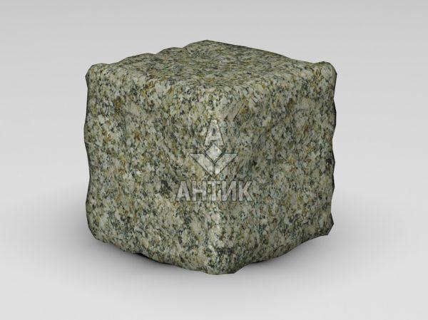 Брусчатка из Старобабанского гранита 150x150x150 галтованная фото