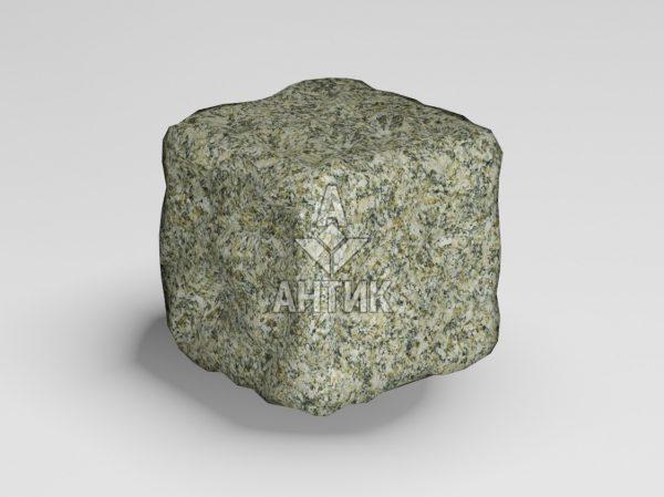 Брусчатка из Старобабанского гранита 50x50x50 галтованная фото
